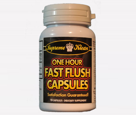 Fast Flush Capsules Pass A Cocaine Drug Test