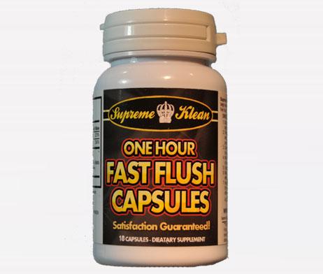 fast flush capsules