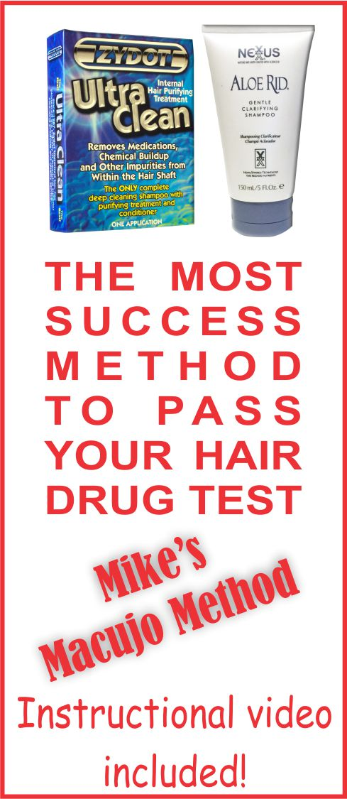 Pass a Hair Drug Test